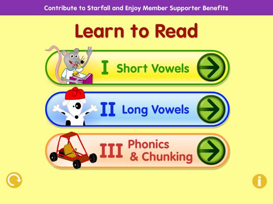 Starfall Learn to Readのおすすめ画像1