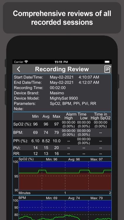 Pulse Oximetry screenshot-6