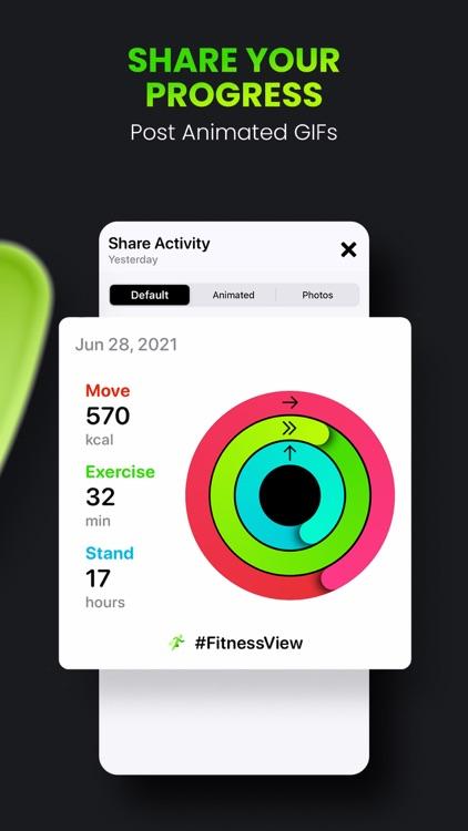 FitnessView ∙ Activity Tracker screenshot-6
