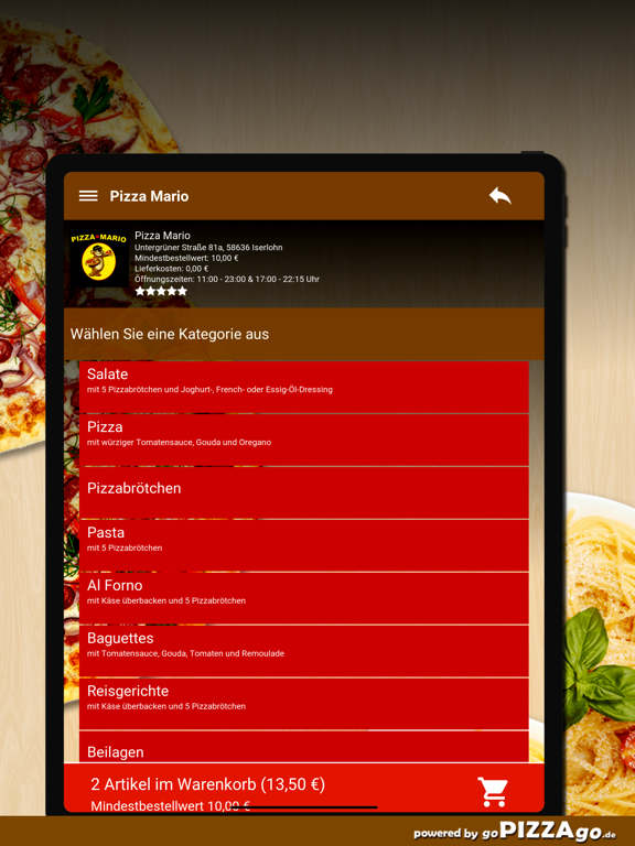 Pizza Mario Iserlohn screenshot 8