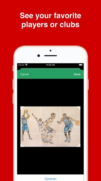 Basketball Wallpapers 4K HD screenshot-3