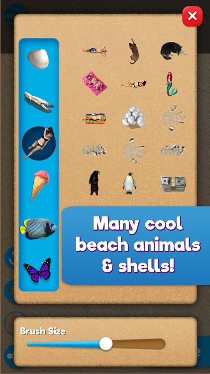 Sand Draw: Beach Wave Art Game screenshot-4