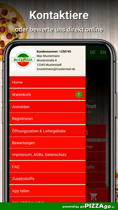 Blitz Pizza Hitzacker (Elbe) screenshot 3