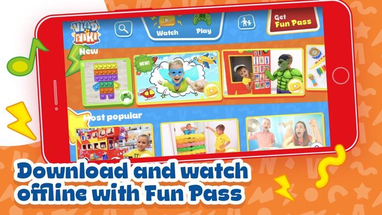 Vlad and Niki – games & videos screenshot-4