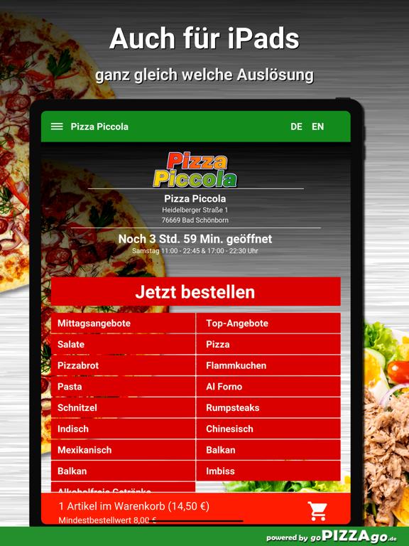 Pizza Piccola Bad Schönborn screenshot 7