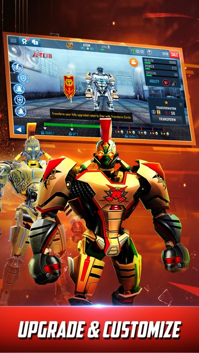 Screenshot from Real Steel World Robot Boxing