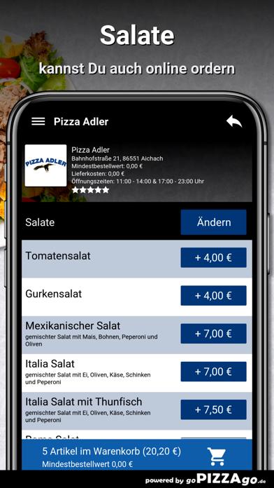 Pizza-Adler Aichach screenshot 5
