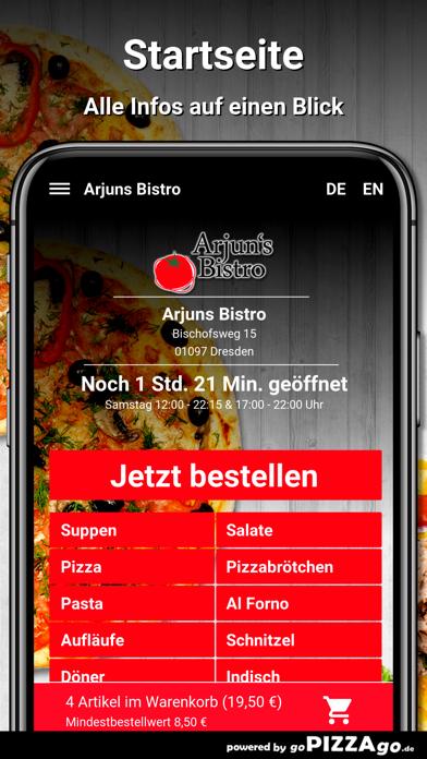 Arjuns Bistro Dresden screenshot 2