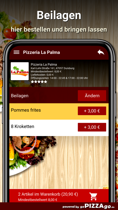 Pizzeria La Palma Duisburg screenshot 6