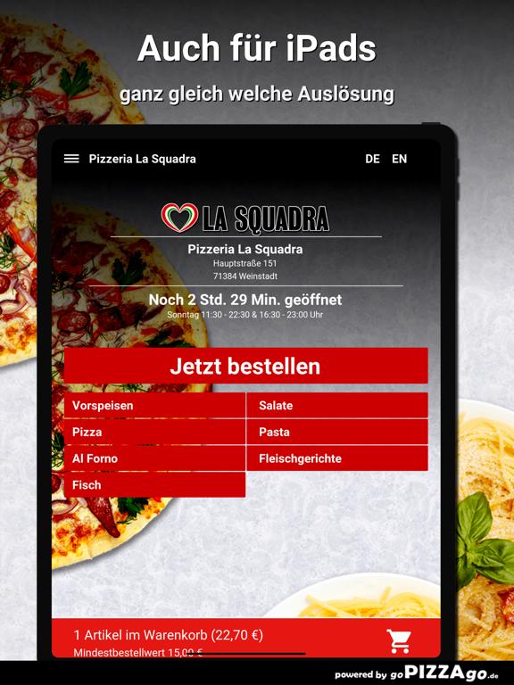 Pizzeria La Squadra Weinstadt screenshot 7
