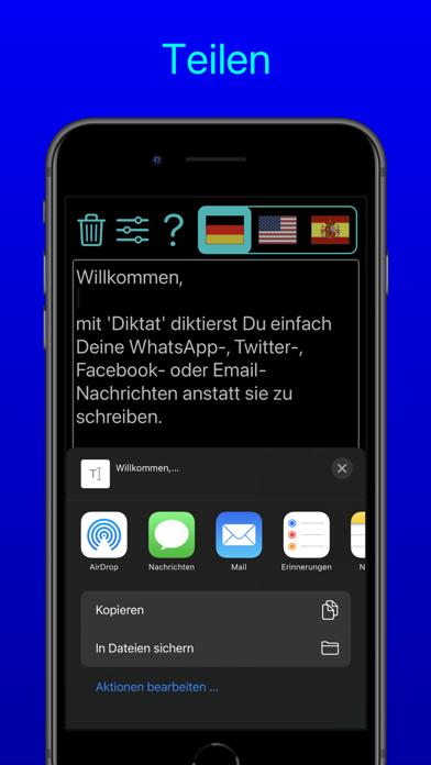 Diktat - Sprache zu TextScreenshot von 7