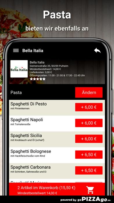 Bella-Italia Pulheim screenshot 6