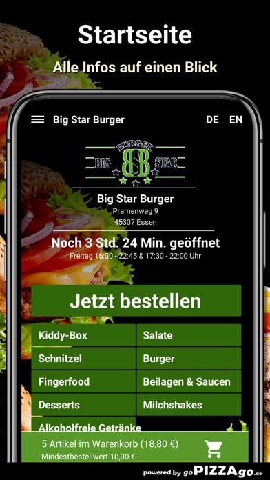 Big Star Burger Essen screenshot 2