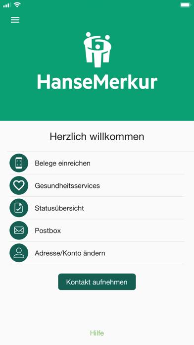 HanseMerkur RechnungsAppScreenshot von 1