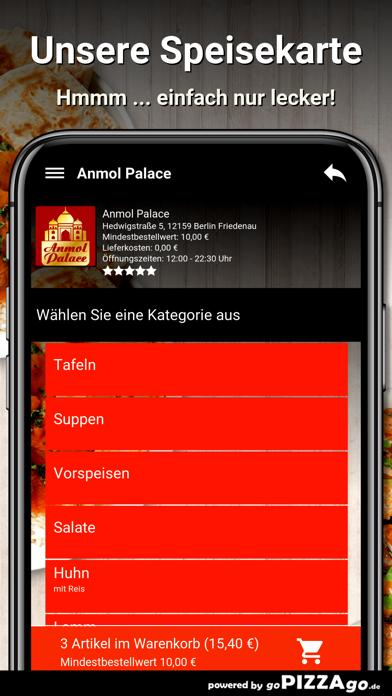 Anmol Palace Berlin Friedenau screenshot 2