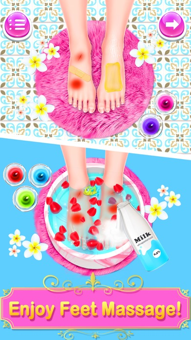 Salon Games: Makeover Spa Fun Screenshot on iOS
