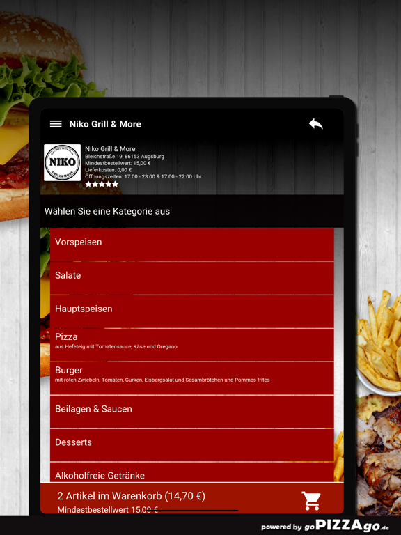 Niko Grill & More Augsburg screenshot 8