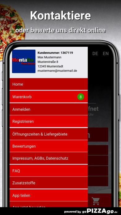 Montalto Pizza Service Korb screenshot 3