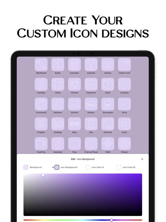 iPad Image of ScreenKit- App Icons & Widgets