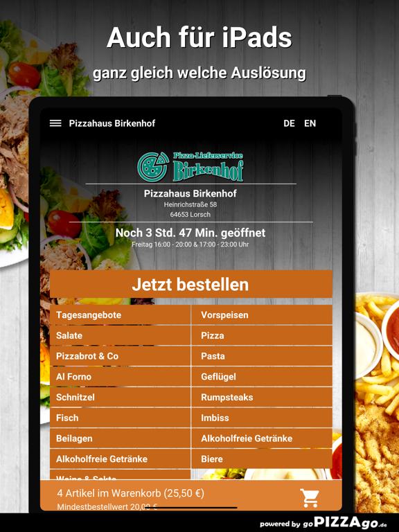 Pizzahaus-Birkenhof Lorsch screenshot 7
