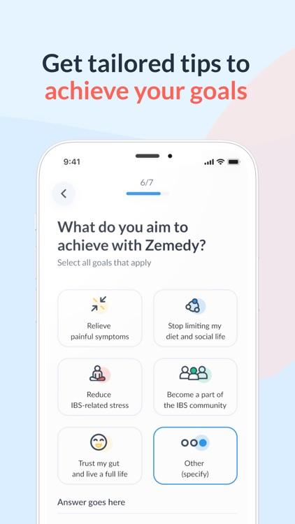 Zemedy: IBS & Gut Health Care screenshot-4