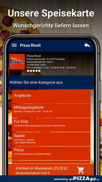 Pizza Rivoli Dresden screenshot 4