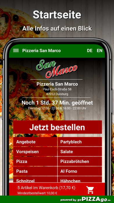 Pizzeria San Marco Duisburg screenshot 3
