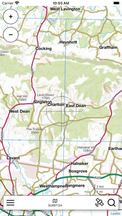 South Downs Outdoor Map Pro screenshot 3