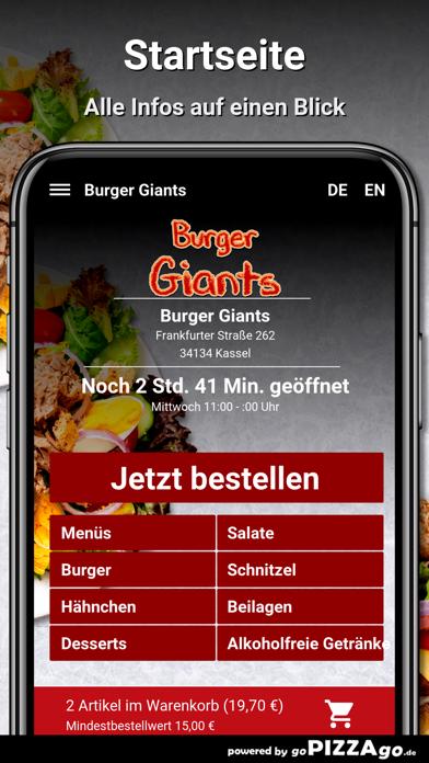 Burger Giants Kassel screenshot 2