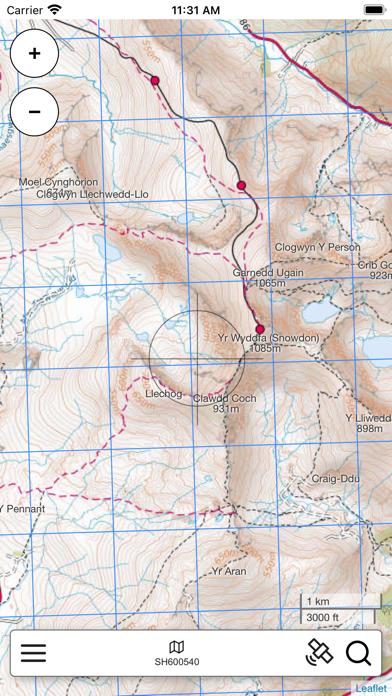 Snowdonia Outdoor Map Pro screenshot 2