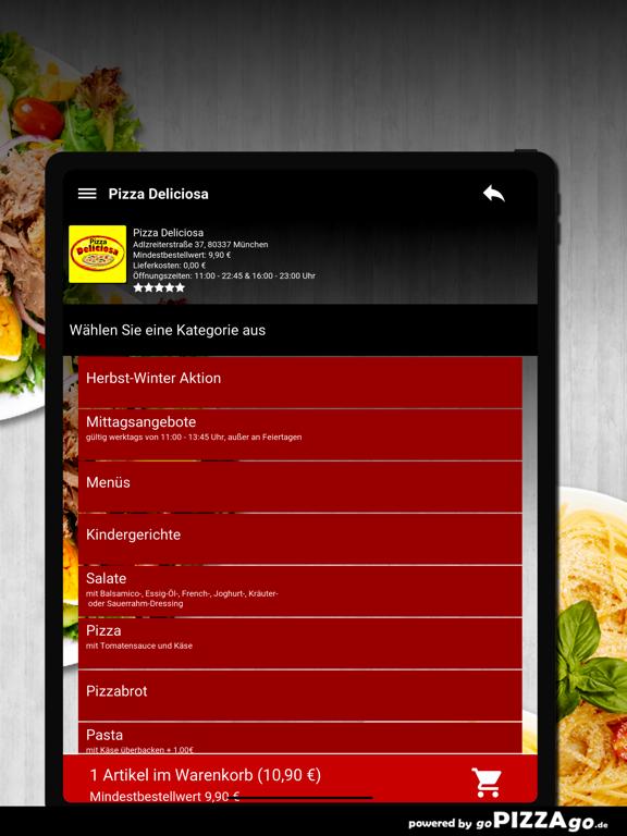 Pizza Deliciosa München screenshot 7