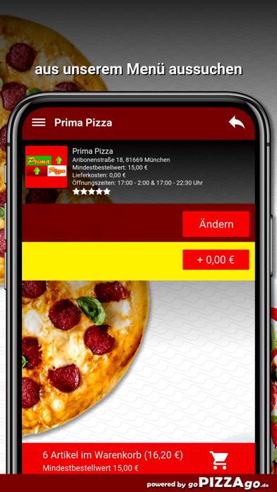 Prima Pizza München screenshot 5