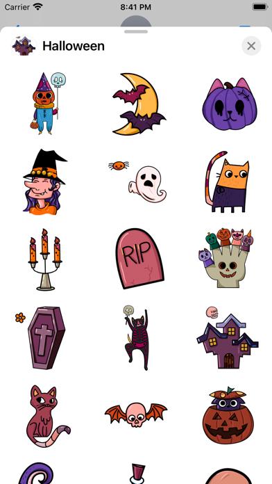 Halloween Horror Stickers screenshot 2
