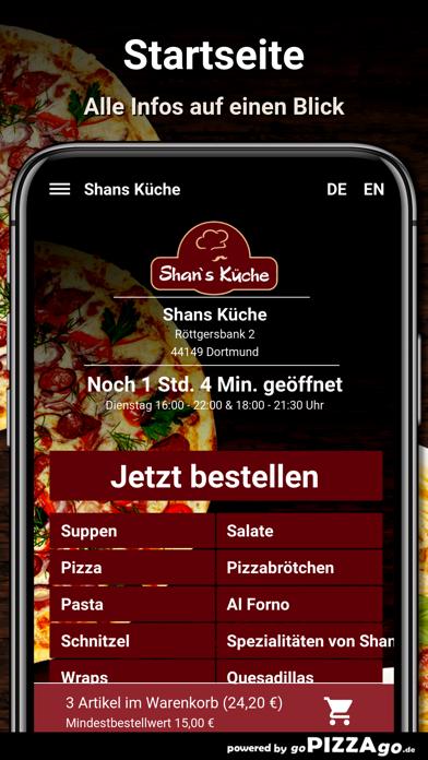 Shans Küche Dortmund screenshot 2
