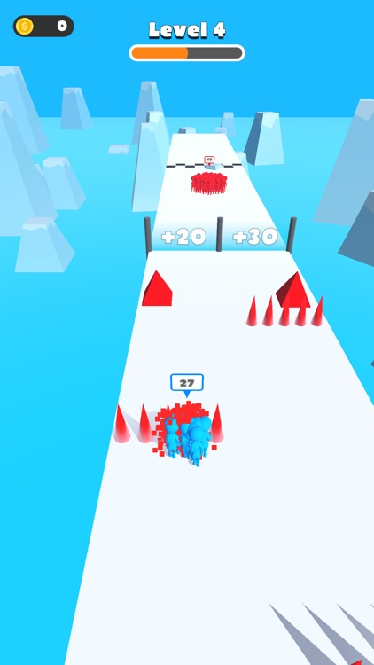 Count Runner 3D -Collect Crowd