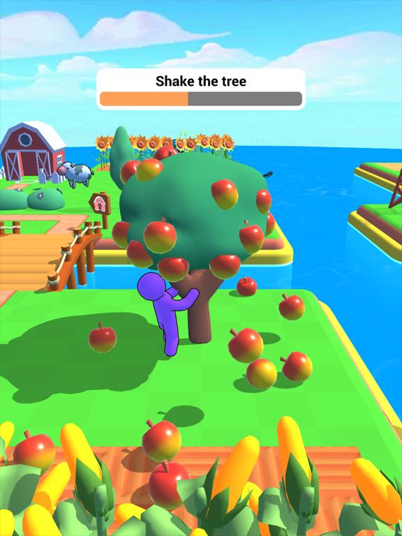 Ipad Screen Shot Farm Land 3D 2