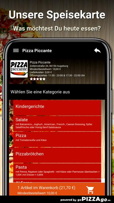 Pizza Piccante Augsburg screenshot 4