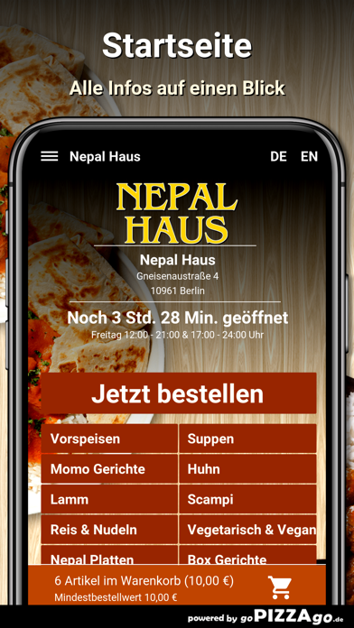 Nepal Haus Berlin screenshot 2