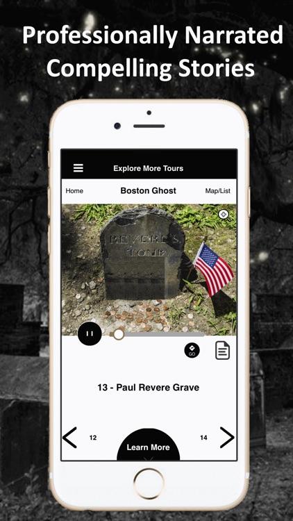 Boston Ghosts Audio Tour Guide screenshot-3