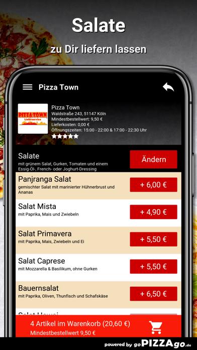 Pizza Town Köln screenshot 5