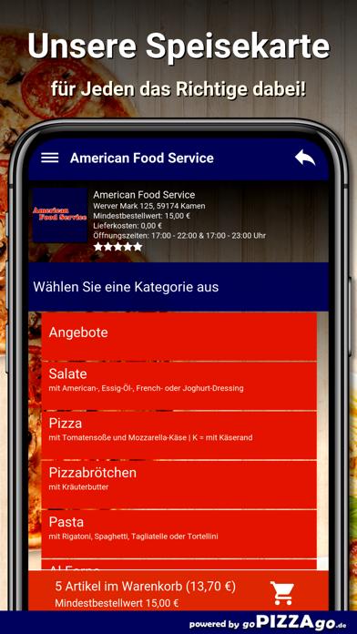 American Food Service Kamen screenshot 4