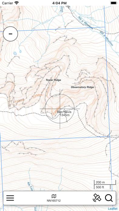 Ben Nevis, W Scotland Map Pro screenshot 1