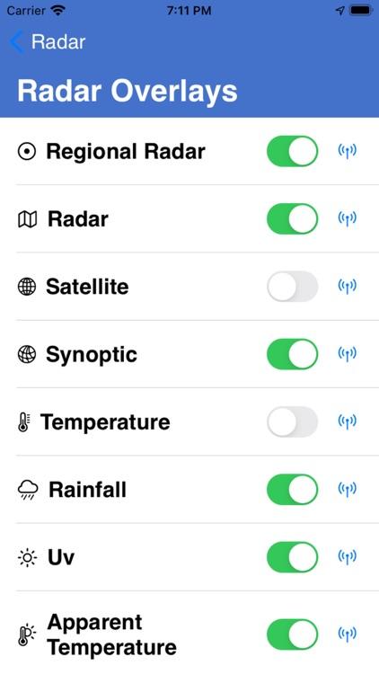 Weather Map screenshot-3