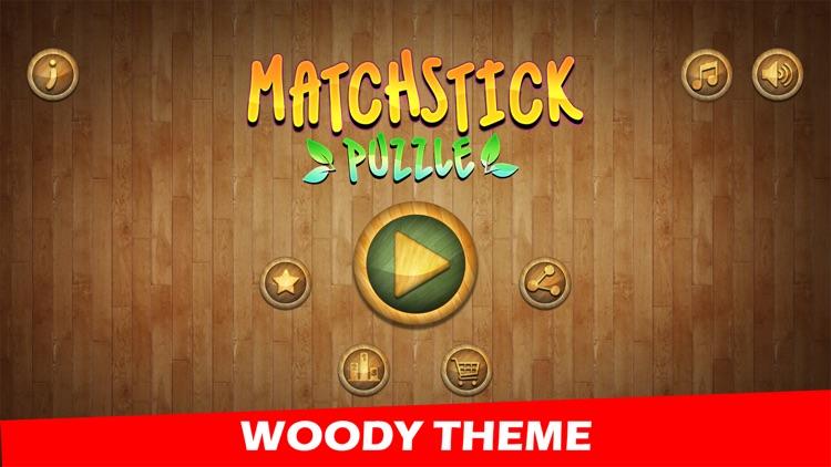 Woody Matchstick Puzzle screenshot-0
