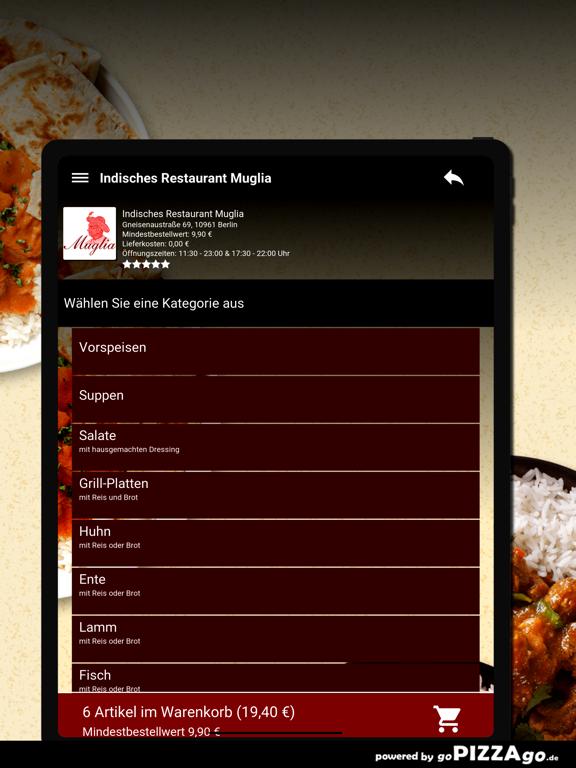 Indisches Restaurant Muglia screenshot 8