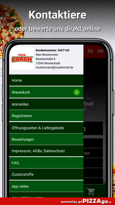 Pizza-Coach Berlin screenshot 3
