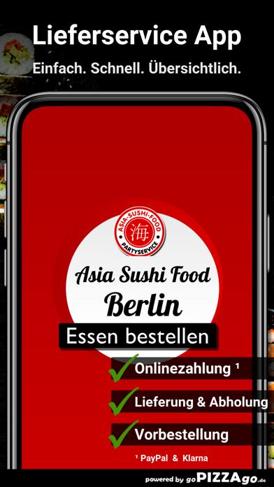 Asia Sushi Food Berlin screenshot 1