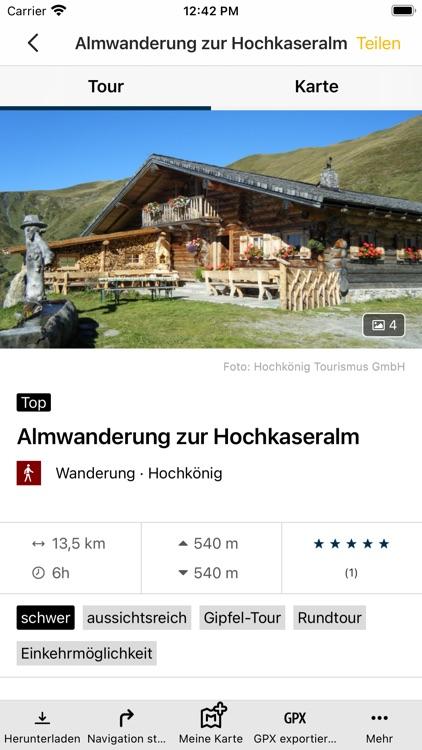 Die Region Hochkönig entdecken screenshot-4