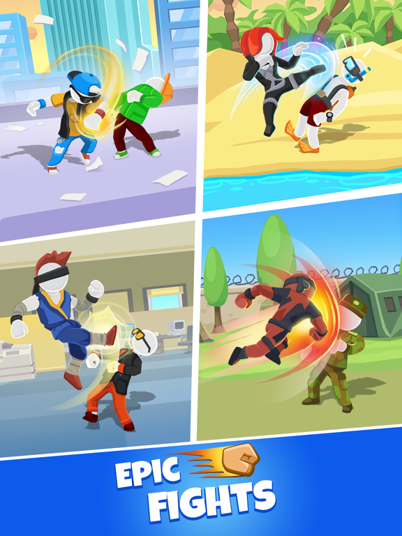 Match Hit - Puzzle Fighter screenshot 9