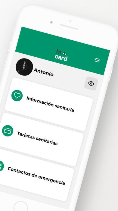 hi+card App screenshot 2